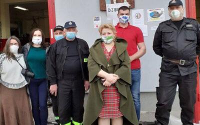 Akcja pomocy strażakom. Płonął Biebrzański Park Narodowy