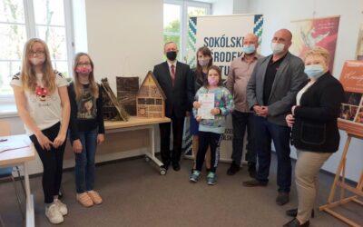 Wręczenie nagród w konkursie na domek dla owadów