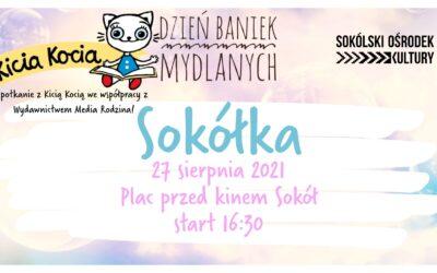 Dzień Baniek Mydlanych w Sokółce