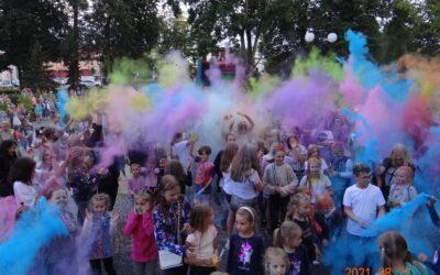 Dzień baniek mydlanych i Święto kolorów w Sokółce