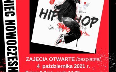 Taniec nowoczesny- zajęcia otwarte